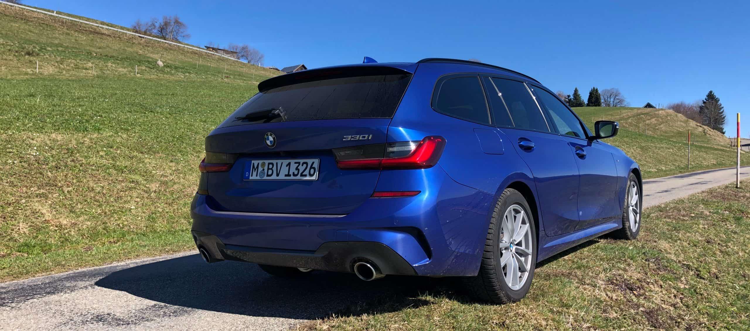 Sixt 3er BMW als Glücksauto