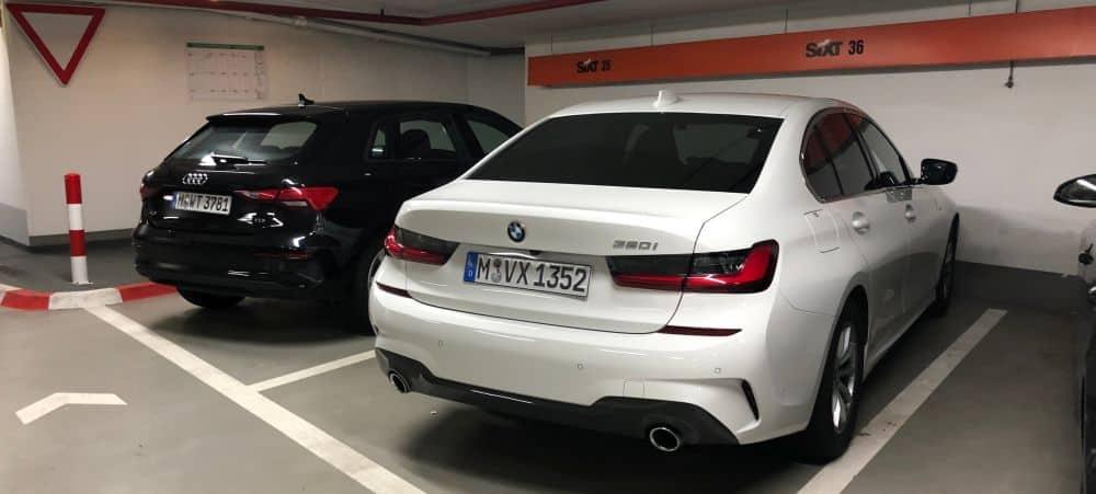 Ein Sixt BMW320i aus der Kategorie FDAR in Österreich